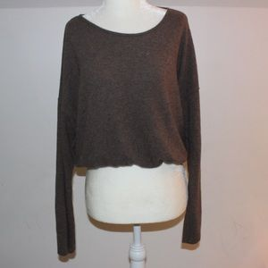 Tops - CROPPED LONG SLEEVE